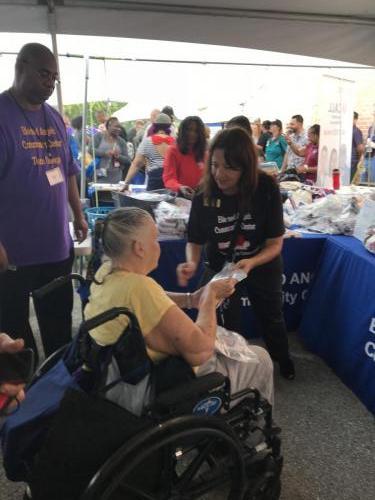 BACC Homeless Veterans Event 2017