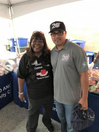 Blessed Angels Homeless Vets 7 Carlos Martinez President of AGIF