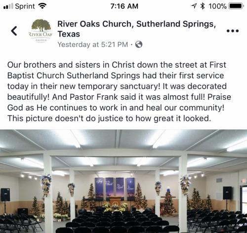 Sutherland Springs First Baptist Church 2